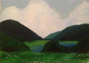 By: Helena Harmon  Medium: Oil Painting