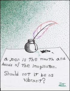 vibrant ink pen